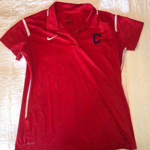 Cleveland Indians Woman's Nike Collard Shirt